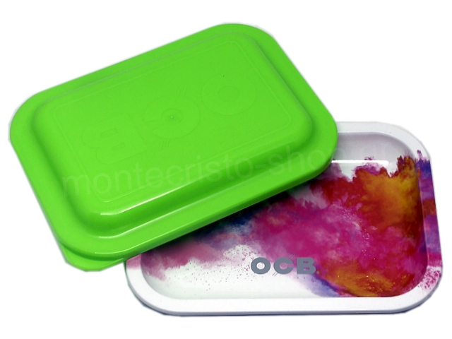 9005 - OCB METAL TRAY MULTICOLOR CLOUD SMALL + COVER ΔΙΣΚΟΣ ΓΙΑ ΣΤΡΙΦΤΟ