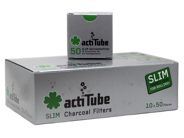 actiTube Slim 50 φίλτρο ενεργού άνθρακα (κουτί των 10)