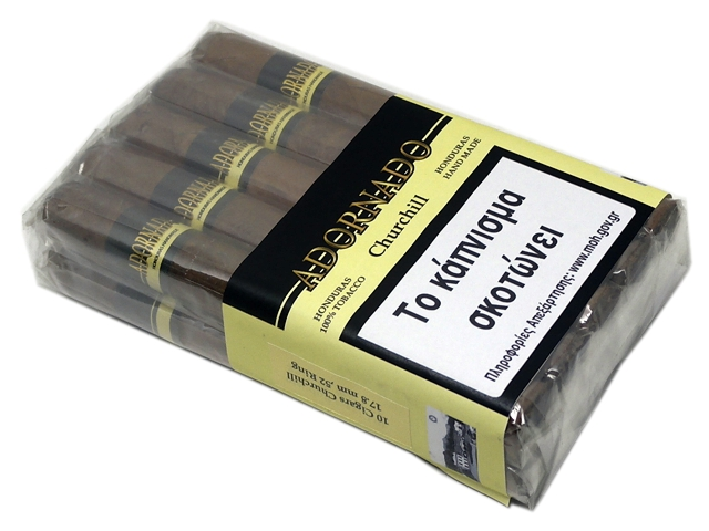 ADORNADO CHURCHILL 10 CIGARS