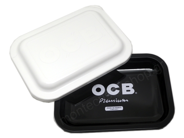 9035 - OCB METAL TRAY MULTICOLOR PREMIUM SMALL + COVER ΔΙΣΚΟΣ ΓΙΑ ΣΤΡΙΦΤΟ