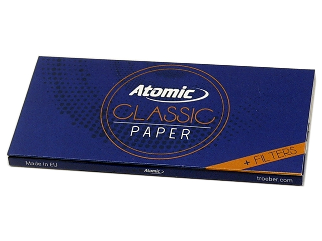 9091 - ATOMIC Classic Papers King Size Maxi Pack με τζιβάνες 0164501 (12.5 g/m2)