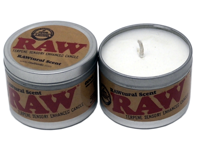 9100 - RAW RAWTURAL SCENT TERPENE CANDLE (κερί)