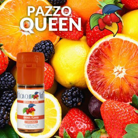 9148 - Άρωμα Flavour Art PAZZO QUEEN (εσπεριδοειδή, φράουλα και βατόμουρα) 10ml