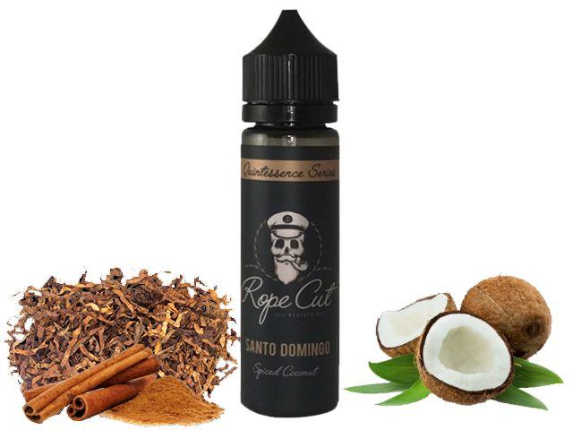 9185 - ROPE CUT Flavour Shot SANTO DOMINGO 20/60ml (καπνικό με κανέλα και καρύδα)