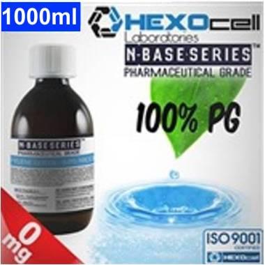 Βάση Hexocell nbase 100% PG, νικοτίνη 0%, 1000ml