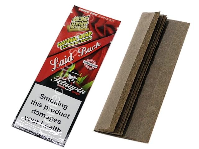 9203 - Kingpin Laid Back Hemp Wraps (με 4 πουρόφυλλα) καρπούζι