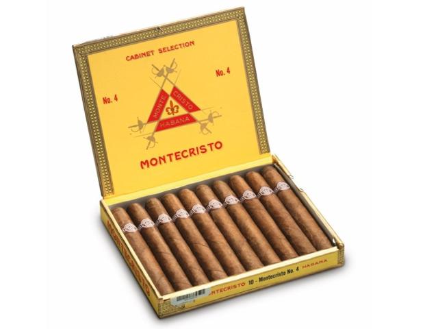 Πούρα Montecristo No4 κουτί των 10