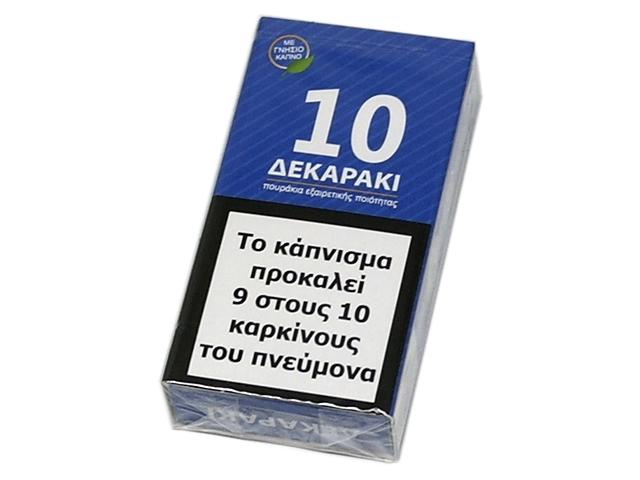 9295 - ΔΕΚΑΡΑΚΙ 10 ΠΟΥΡΑΚΙΑ ΜΠΛΕ FILTER