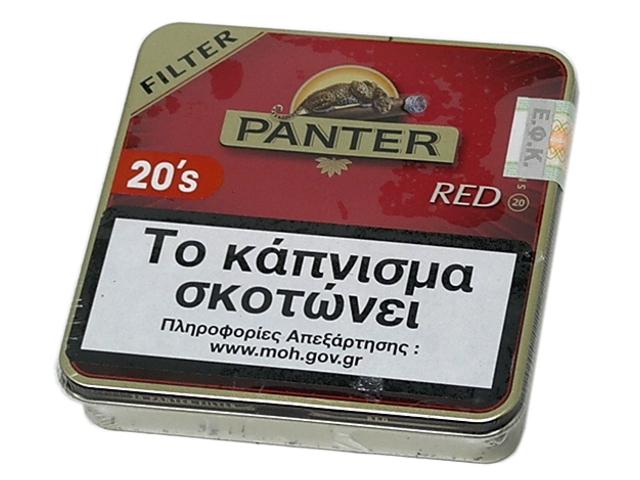 PANTER RED FILTER 20 (βανίλια)