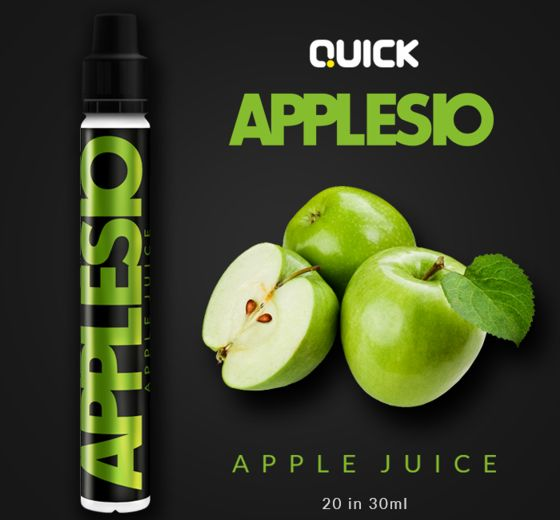 9340 - Quick Mix Shake Vape APPLESIO 20/30ml (χυμός από μήλο)