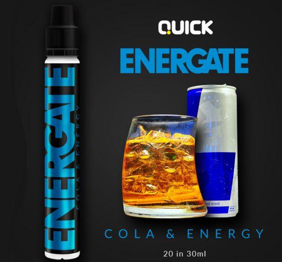 9345 - Quick Mix Shake Vape ENERGATE 20/30ml (ενεργειακό ποτό και κόλα)