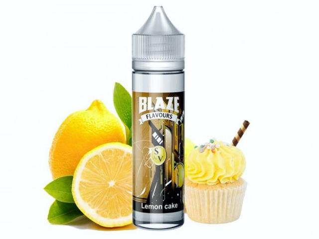 9418 - Blaze Premium Flavour Shot LEMON CAKE 15/60ml (κέικ με λεμόνι)