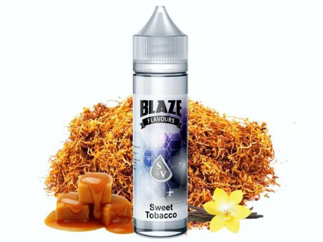 9424 - Blaze Flavour Shot SWEET TOBACCO 15/60ml (γλυκό καπνικό)