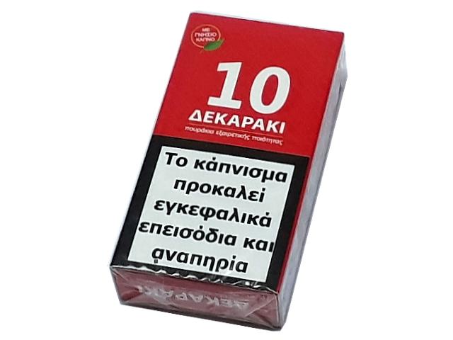 9426 - ΔΕΚΑΡΑΚΙ 10 ΠΟΥΡΑΚΙΑ ΚΟΚΚΙΝΟ FILTER