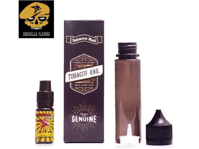 9432 - Guerrilla Shake And Vape TOBACCO TRAIL 10ml (καπνικό με καραμέλα και βανίλια)