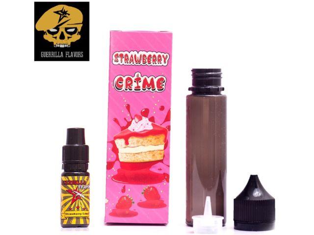 9440 - Guerrilla Shake And Vape STRAWBEERY CRIME 10ml (τσιζκεικ με φράουλα και μπισκότο)