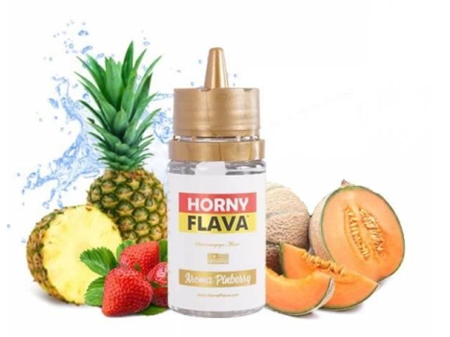 9446 - Άρωμα Horny Flava PINKBERRY 30ml (φράουλα, ανανάς και πεπόνι)