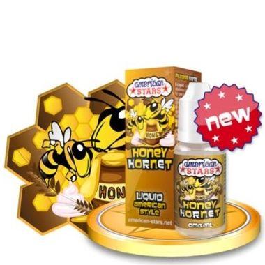 9481 - Υγρό αναπλήρωσης American Stars HONEY HORNET 10ml (γάλα,καρύδια,μπανάνα,δημητριακά και μέλι)