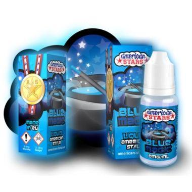 9485 - Υγρό αναπλήρωσης American Stars BLUE MAGIC 10ml (διάφορα φρούτα και μέντα)