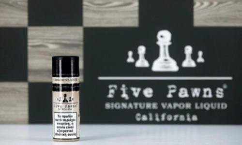 9496 - Υγρό αναπλήρωσης Five Pawns BOWDENS MATE 10ml (σοκολάτα με μέντα και βανίλια)
