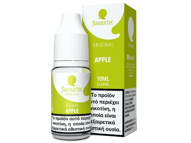9504 - Υγρό αναπλήρωσης Flavourtec APPLE 10ml (μήλο)