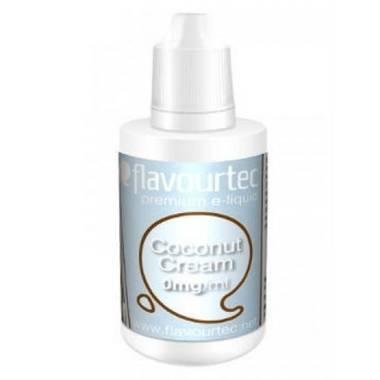 9508 - Υγρό αναπλήρωσης Flavourtec COCONUT CREAM 10ml (καρύδα και κρέμα)
