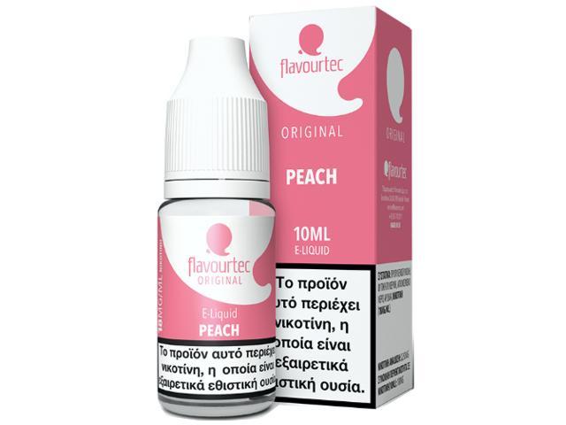 9514 - Υγρό αναπλήρωσης Flavourtec PEACH 10ml (ροδάκινο)