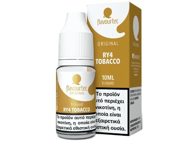 Υγρό αναπλήρωσης Flavourtec RY4 10ml (καπνικό,με καραμέλα και βανίλια)