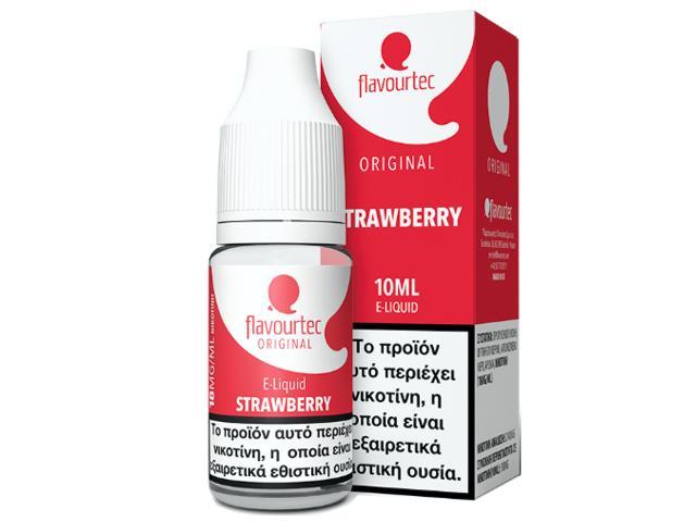 Υγρό αναπλήρωσης Flavourtec STRAWBERRY 10ml (φράουλα)