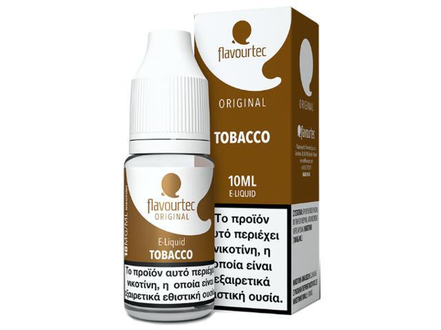 9524 - Υγρό αναπλήρωσης Flavourtec TOBACCO 10ml (καπνικό)