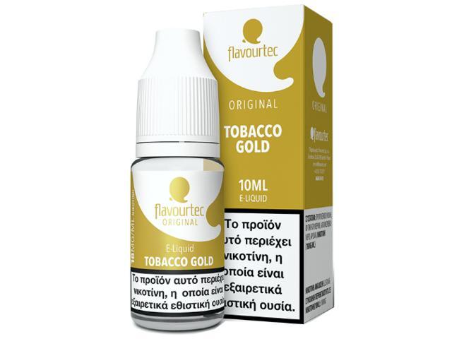 9525 - Υγρό αναπλήρωσης Flavourtec TOBACCO GOLD 10ml (καπνικό)