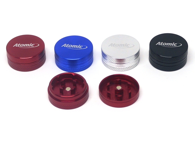 9595 - Τρίφτης καπνού Atomic Alu Grinder 30mm 0212368 (αλουμίνιο)