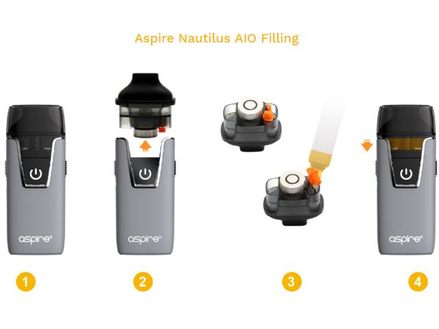 NAUTILUS AIO POD 2ml by Aspire (δοχείο)
