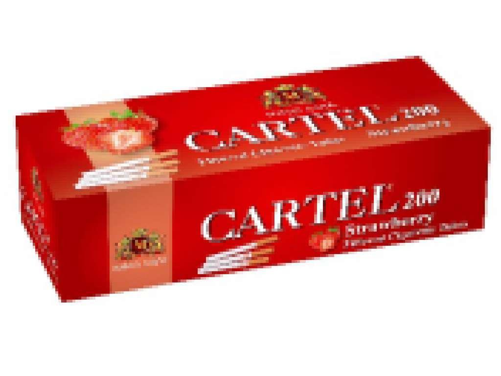 Άδεια τσιγάρα Cartel Strawberry 200 ΦΡΑΟΥΛΑ