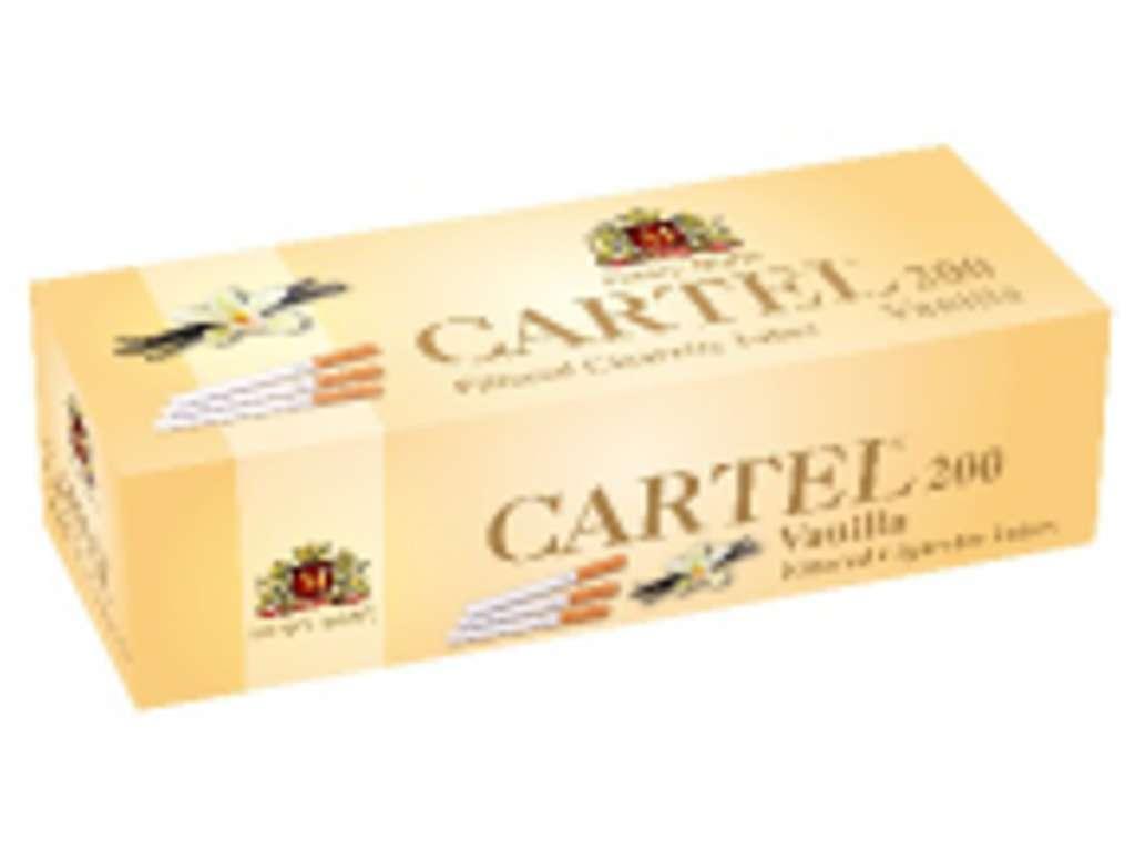 2049 - Άδεια τσιγάρα Cartel Vanila 200 ΒΑΝΙΛΙΑ