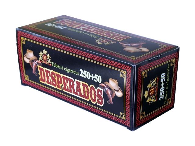 3126 - Άδεια τσιγάρα DESPERADOS TUBES 300 με 250+50 τσιγαροσωλήνες
