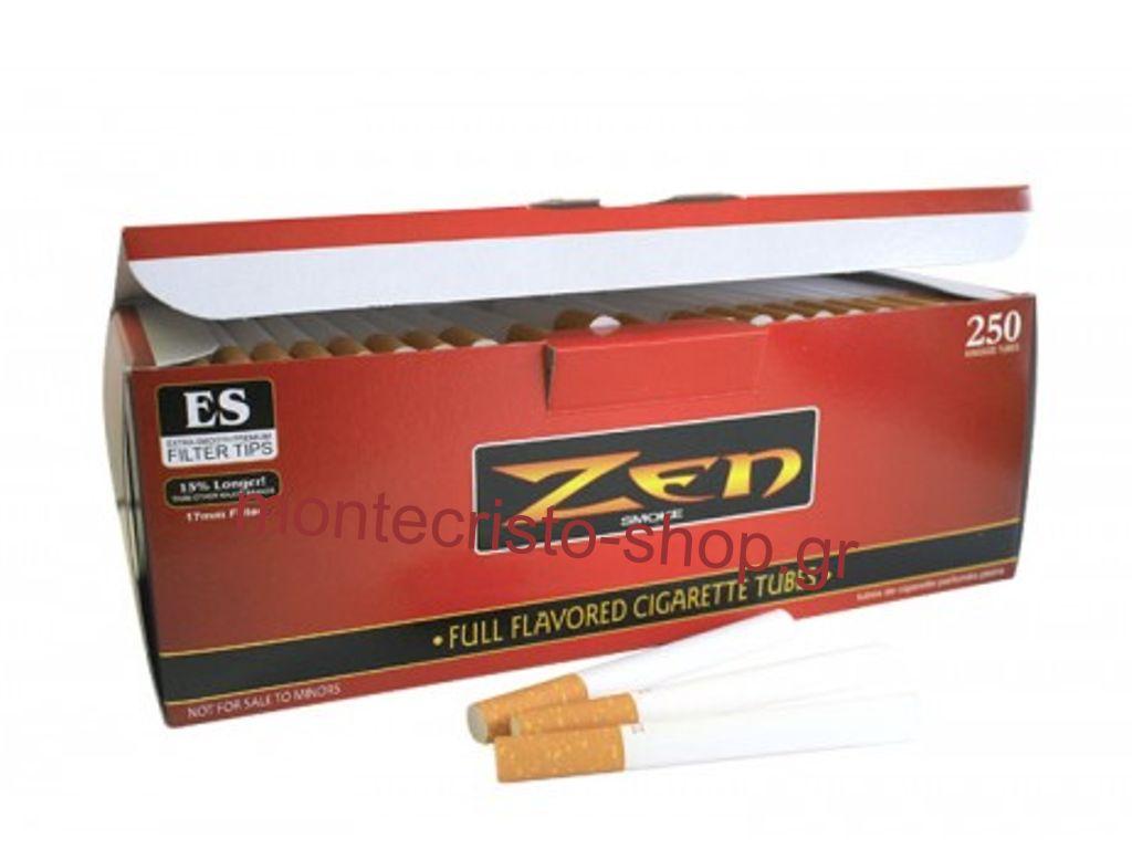 Άδεια τσιγάρα, σωλήνες ZEN, 250 τεμ