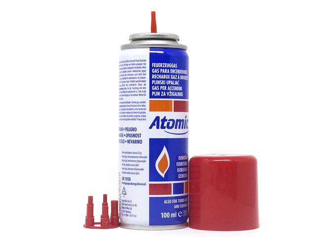 10532 - Αέριο Αναπτήρων ATOMIC ΒΟΥΤΑΝΙΟ 100ml 0141213