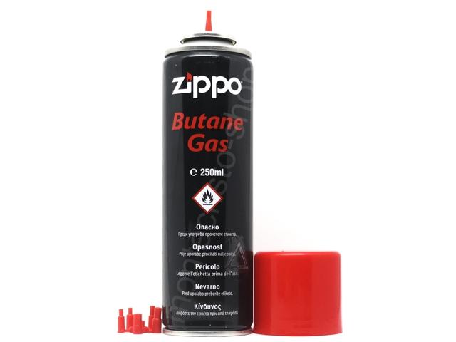 9018 - Αέριο ZIPPO BUTANE GAS 250ml για αναπτήρες