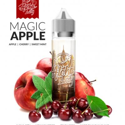 10101 - ALOHA CITY MAGIC APPLE 40/60ML SHAKE VAPE (μήλο κεράσι)