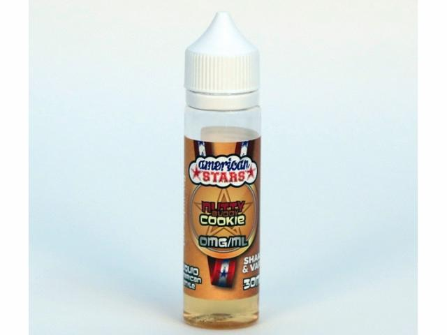 8122 - American Stars NUTTY BUDDY COOKIE Shake and Vape 30ml / 60ml (μπισκότο βανίλια)