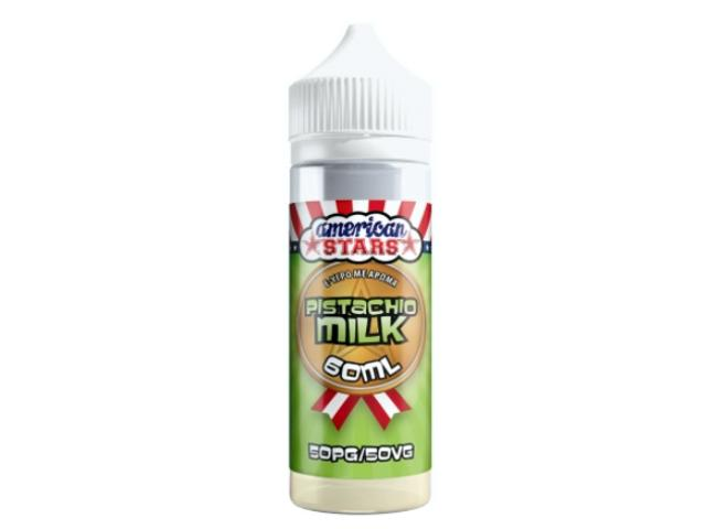 11094 - American Stars PISTACHIO MILK Shake and Vape 60ml / 120ml (φυστίκι με κρέμα γάλακτος)