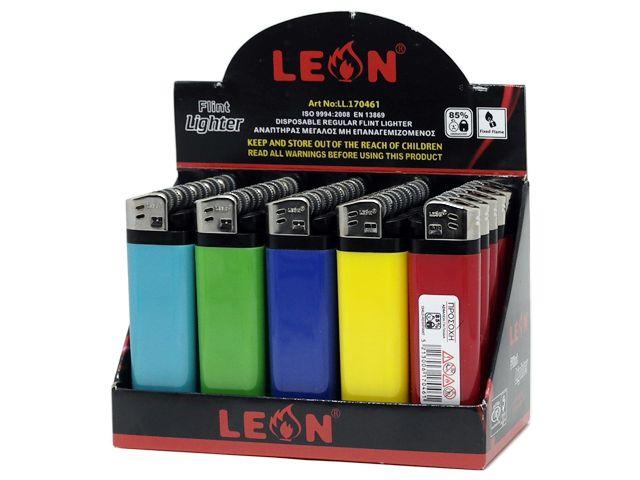 10510 - Αναπτήρας Leon 170461 Regular Classic (κουτί των 25)