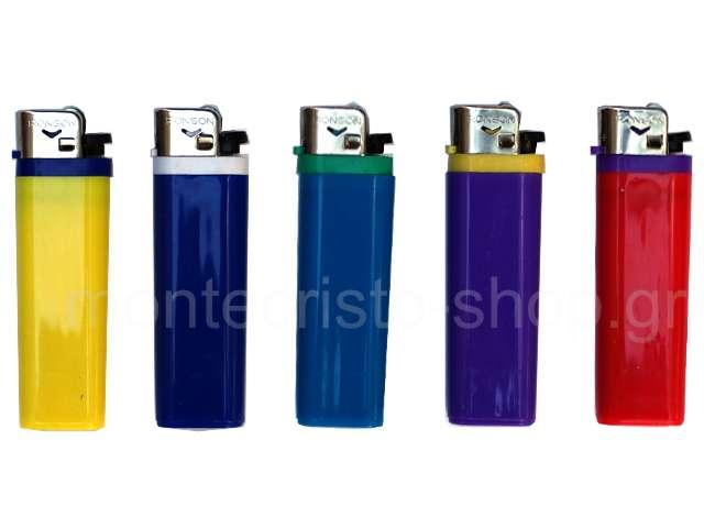 Αναπτήρας Ronson 10011 πλαστικός σε διάφορα χρώματα