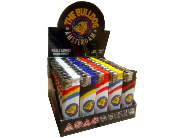 10993 - Αναπτήρας THE BULLDOG CIRCUS SM00079 (κουτί των 50)