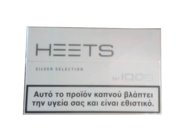 10999 - Ανταλλακτικά IQOS HEETS SILVER ασημί (20 τεμάχια) ήπια καπνική γεύση