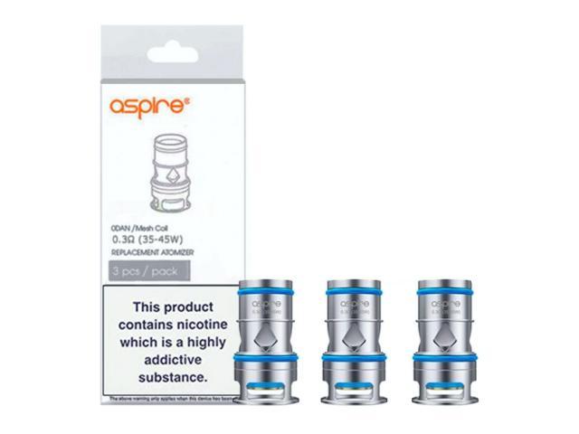 11282 - Ανταλλακτικές κεφαλές ASPIRE ODAN 3 αντιστάσεις