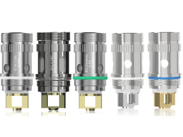 2543 - Αντιστάσεις Eleaf EC Heads for MELO 3 MELO 4 MELO 5 (5 coils)