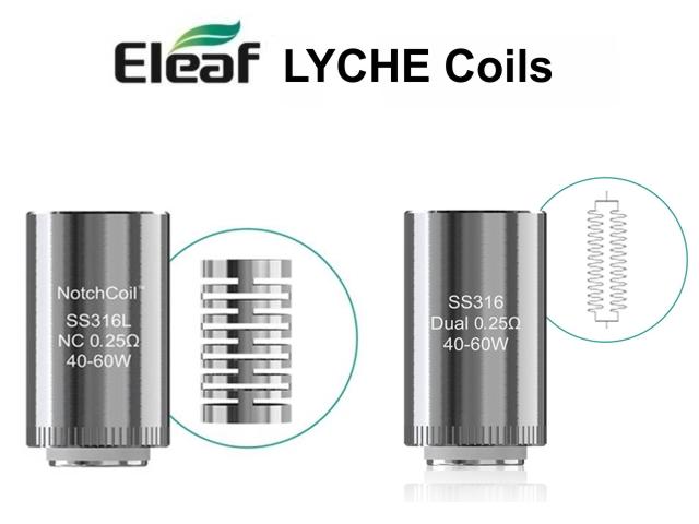 4210 - Ανταλλακτικές κεφαλές Eleaf Lyche (5 coils)