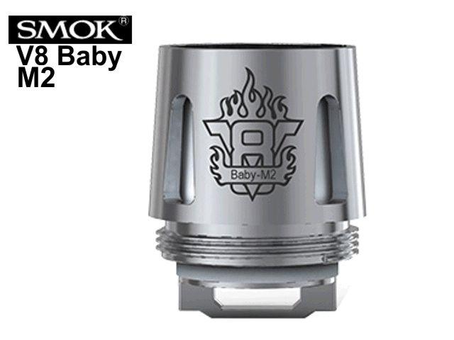 5842 - Ανταλλακτικές κεφαλές SMOK TFV8 BABY M2 για TFV8 Baby και Stick V8 mod (5 coils)